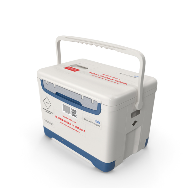 Human Organ Transplant Cooler PNG & PSD Images
