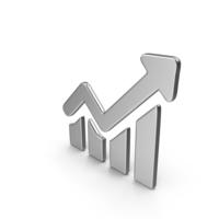 Growing Graph Symbol PNG & PSD Images