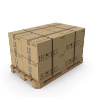 Cardboard Box Pallet PNG & PSD Images