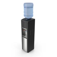 Water Cooler Black PNG & PSD Images
