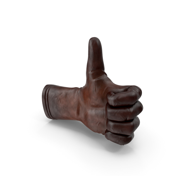 Leather Glove Thumbs Up PNG & PSD Images