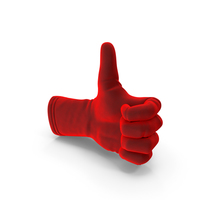 Velvet Glove Thumbs Up PNG & PSD Images
