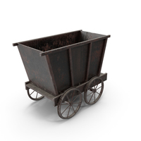 Mine Trolley PNG & PSD Images