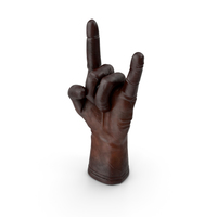 Leather Glove Rock N Roll Gesture PNG & PSD Images