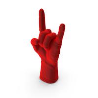 Velvet Glove Rock N Roll Gesture PNG & PSD Images