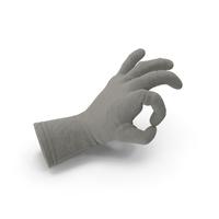 Jute Glove Ok Gesture PNG & PSD Images