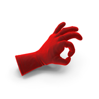 Velvet Glove Ok Gesture PNG & PSD Images