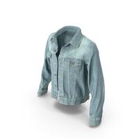 Jeans Jacket Light Blue PNG & PSD Images