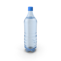 Water Bottle Blue PNG & PSD Images