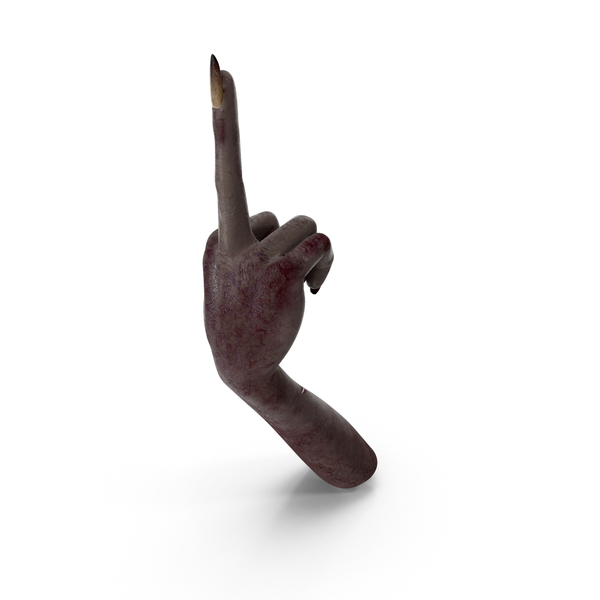 Dark Creature Hand Giving The Finger PNG & PSD Images