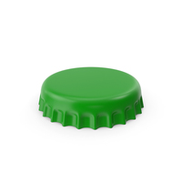 Green Bottle Cap PNG & PSD Images