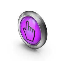 Icon Purple Pointer PNG & PSD Images