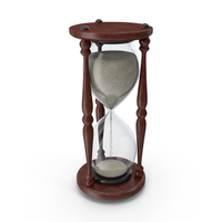 Classic HourGlass Starting Sand PNG & PSD Images