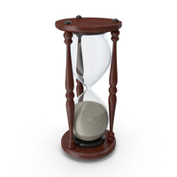Classic Hour Glass Finished Sand PNG & PSD Images