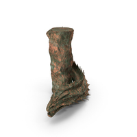 Serpent Creature Old Bronze PNG & PSD Images