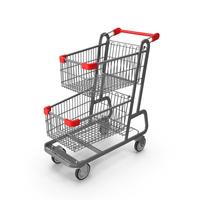 Metal Shopping Cart PNG & PSD Images