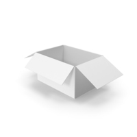 White Cardboard Box PNG & PSD Images