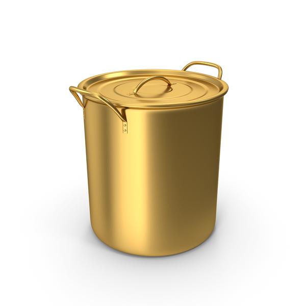 Gold Brew Pot PNG & PSD Images