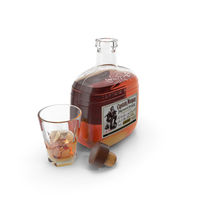 Captain Morgan Spiced Rum PNG & PSD Images