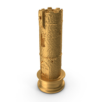 Chess Piece Rock Gold PNG & PSD Images