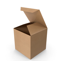 Square Packaging Box PNG & PSD Images