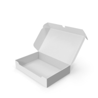 White Cardboard Packaging Box PNG & PSD Images