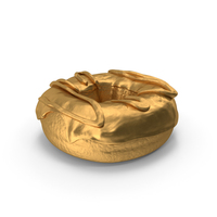 Donut Gold PNG & PSD Images