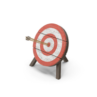 Archery Target With Arrows PNG & PSD Images