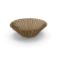 Wicker Basket PNG & PSD Images