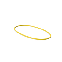 Rubber Band Yellow PNG & PSD Images