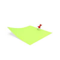 Sticky Notes Green PNG & PSD Images