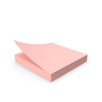 Sticky Notes Pink PNG & PSD Images