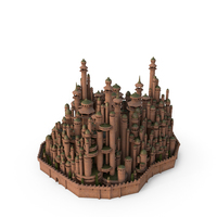 Mysterious Elf City PNG & PSD Images