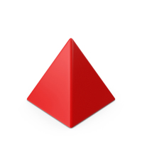 Pyramid Red PNG & PSD Images