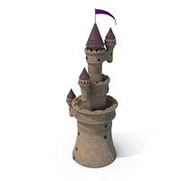 Fort Multi Tower PNG & PSD Images
