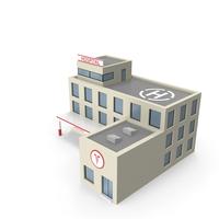 Cartoon Hospital PNG & PSD Images