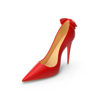 Womens Red Patent Leather Shoes PNG & PSD Images