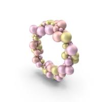 Pink Ballon Circle PNG & PSD Images