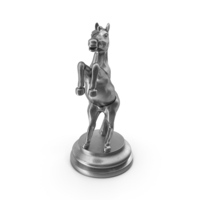 Chess Piece Knight Silver PNG & PSD Images
