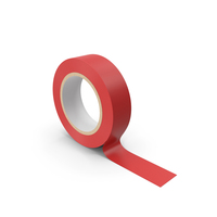 Masking  Tape Red PNG & PSD Images