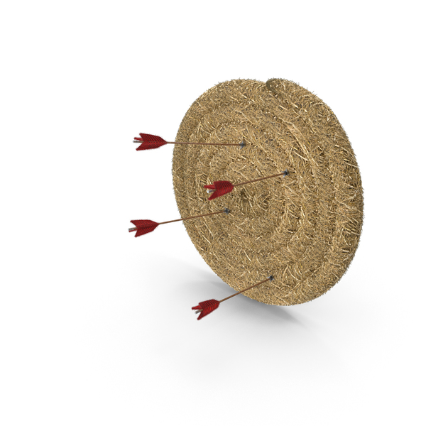 Archery Hay Bale Roll Target Practice PNG & PSD Images