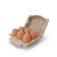 Eggs Brown in Box PNG & PSD Images