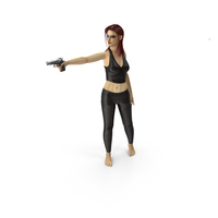 Woman Assassin PNG & PSD Images