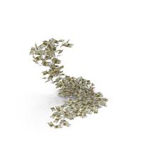 Falling 200 Euro Bills PNG & PSD Images