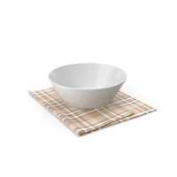 Bowl And Napkin PNG & PSD Images