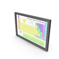 Periodic Table of Elements PNG & PSD Images