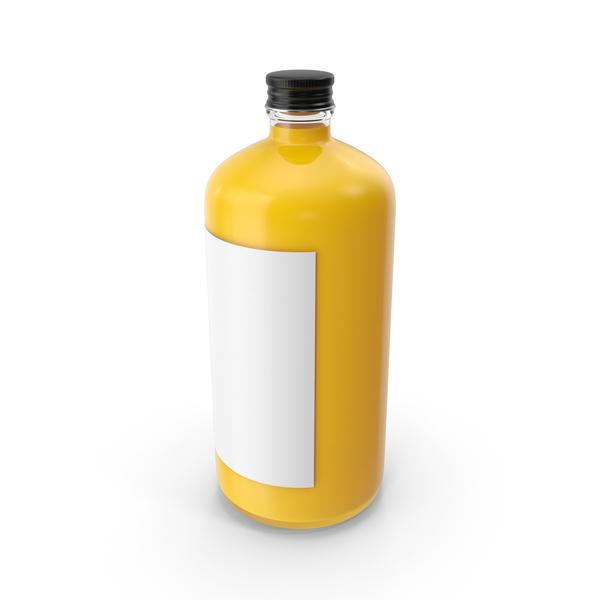 Orange Juice Bottle PNG & PSD Images