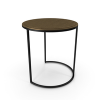 Knurl Large Accent Table PNG & PSD Images
