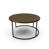 Knurl Large Coffee Table PNG & PSD Images