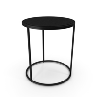 Knurl Small Accent Table PNG & PSD Images